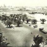 Sidi Belyout vu d'un immeuble de l'avenur Houphouët Boigny