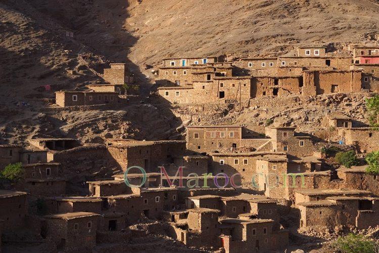 Village dans l'aatlas