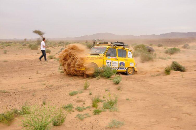 4l trophy sable dunes merzouga