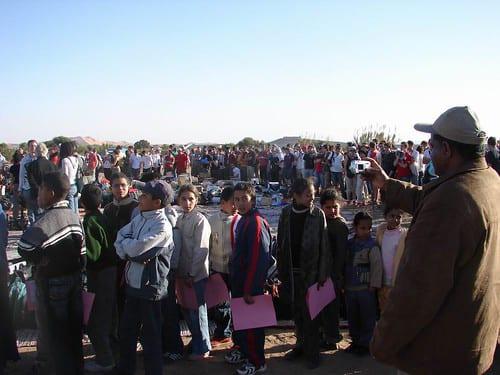 Distribution 4l trophy merzouga enfants patientent