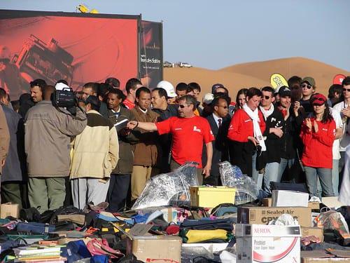 Distribution 4l trophy merzouga organisation