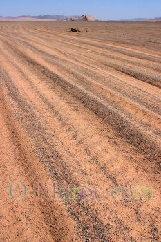Traces dunes merzouga