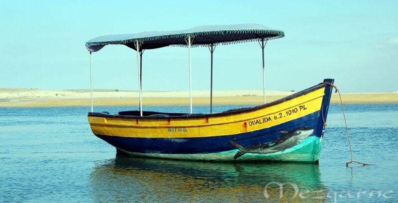 Barque couverte oualidia