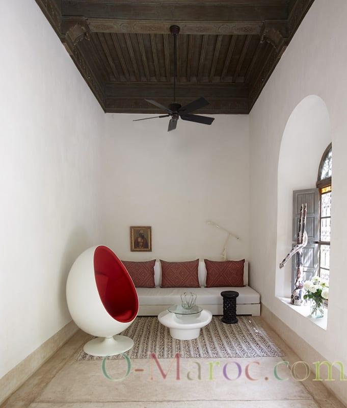 Salon marocain et design