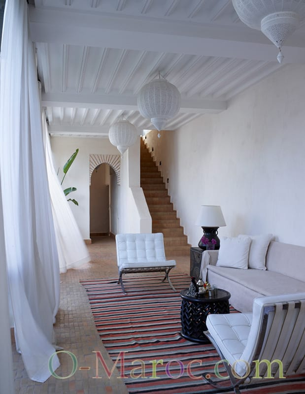 Salon ouvert balcon