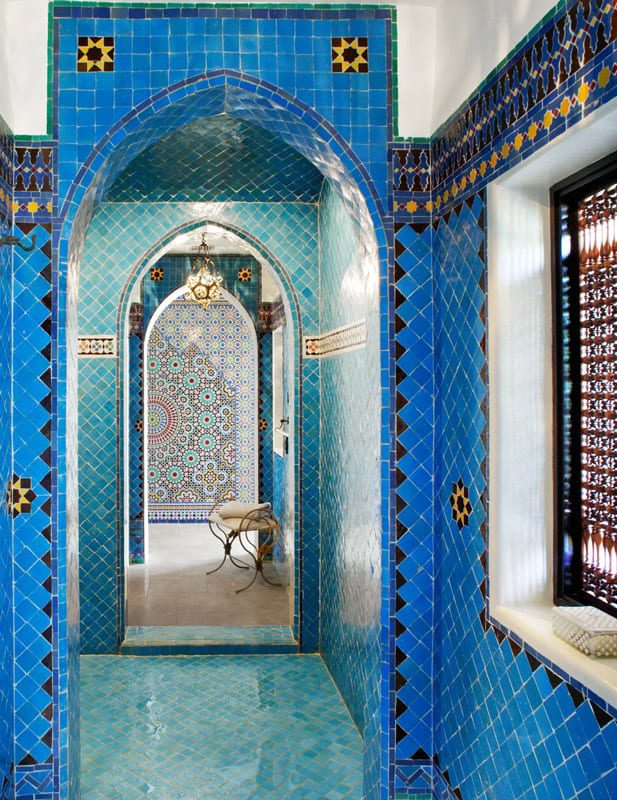 Couloir acces salle de bains