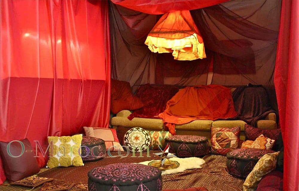 Tente marocaine recree