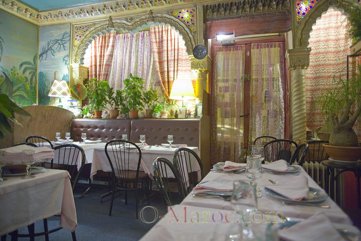 Le restaurant la table de Fès