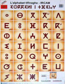 Alphabet neo tifinagh ircam