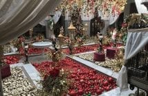 Luxueux decor noel riad marrakech