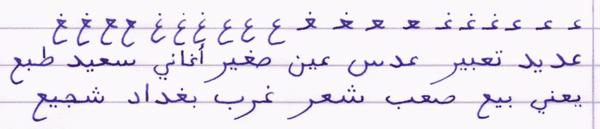 600 235769 vignette arabic alphabet ayn ghayn