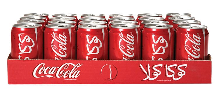 Coca cola arabe