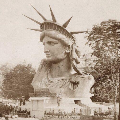 Tete statue de la liberte