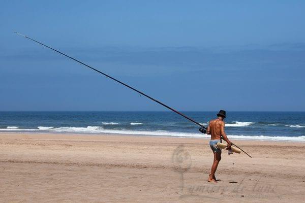 Pêcheur à Haouzia
