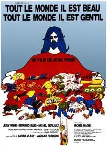 """Affiche originale du film """"Tout le Monde Il est Beau"""" de Jean Yanne"""