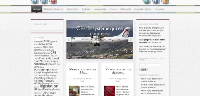 Ancienne page accueil
