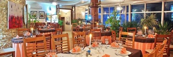La salle du restaurant Bellevue à El Jadida