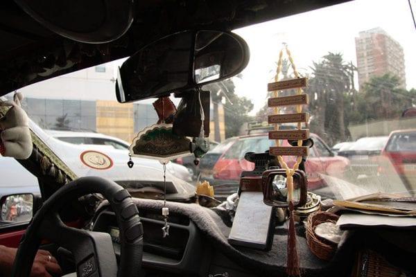 Vue de la circulation de Casablanca