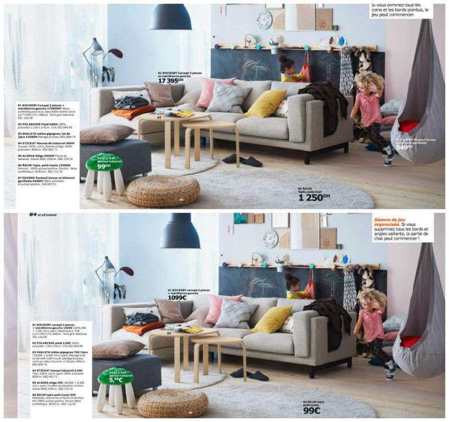 Les prix d 39 ik a maroc la pol mique est plus que justifi e for Ikea augmenter le prix de la chambre