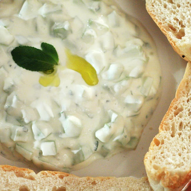 Concombre et yaourt, une harmonie pour l'été