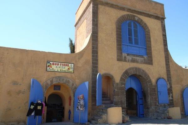L'entrée de la Sqala, qui ouvre seulement pour le Ftour
