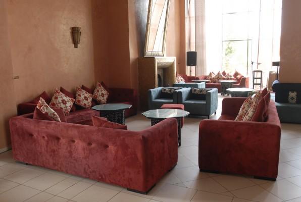 Salon d'hôtel à Marrakech