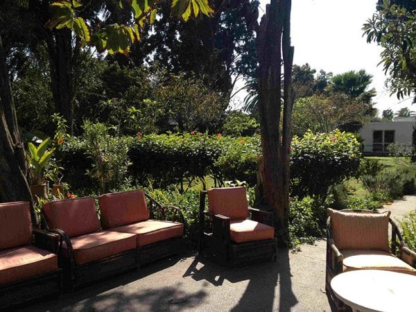 Jardin de la maison de retraite souissie