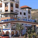 Un hôtel à proximité de la marina