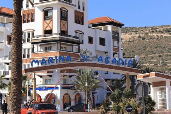 La marina d'Agadir