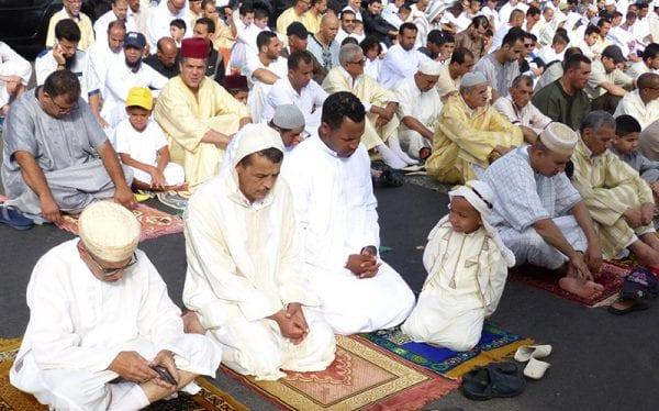 Prière de l'Aïd à Casablanca