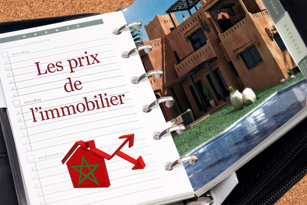 Volution du prix de l 39 immobilier au maroc for Prix du carrelage au maroc