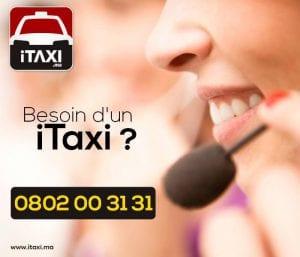 Publicité ITaxi